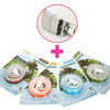 CM - Natural Pest Control Collar (아로마테라피) PC000D(Dog) 4종 혼합 4개(8개월분)+ handlink